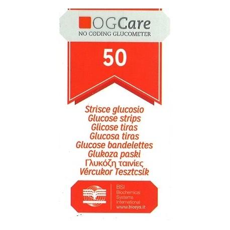 Tiras Glucosa OGCare