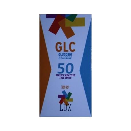 Tiras para glucosa LUX